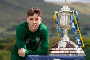 Celtic youngster Michael Johnston has played his way into contention for the Scottish Cup final.
