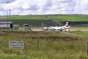 Kirkwall Airport is one of the six airports affected. Picture: Ken Walton/creativecommons.org/licenses/by-sa/2.0/