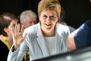 Nicola Sturgeon. Picture: Getty
