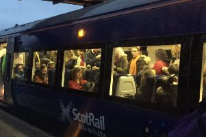 Overcrowding is a particular bugbear of younger passengers. Picture: Gary Dale