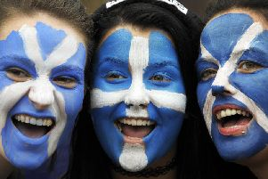Young Scottish nationalists and unionists are joining forces to call for a People's Vote or second referendum on the UK's EU membership (Picture: Andy Buchanan/AFP/Getty Images)