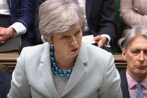 Theresa May comes up short when it comes to small-talk (House of Commons/PA)