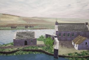 The ancient medieval stronghold of the Lords of the Isles at Finlaggan on Islay has been reconstructed in virtual reality to reveal how Scottish clan chiefs lived 600 years ago. Picture: University of St Andrews