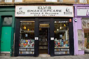 Elvis  Shakespeare is a treasure trove of second-hand books and records. Picture: Scott Louden