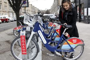 Just eat hire bikes that need to have their seats replaced
