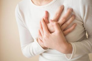 Chest pains aren't the only way signs of a heart attack can present themselves, especially in women (Photo: Shutterstock)