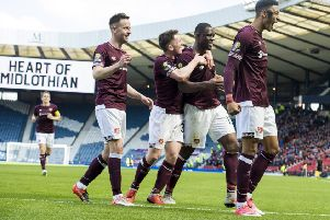 All three goals in Hearts' semi-final win over Inverness came from set-pieces. Picture: SNS