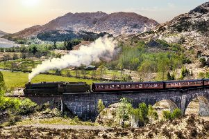 Attractions like the Glenfinnan viaduct are putting pressure on facilities. Photograph: Jeff Daniels/Getty