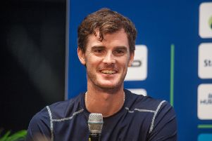 Jamie Murray and doubles partner Bruno Soares are to split after the French Open. Picture: John Devlin