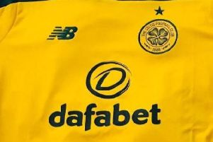 """Detail from the """"leaked"""" new Celtic away kit"""