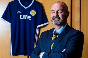 Scotland manager Steve Clarke has named his first Scotland squad
