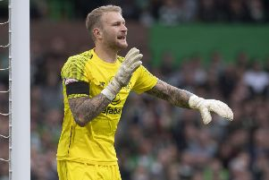 Scott Bain has risen to become first-choice Celtic keeper after earlier setbacks in his career. Picture: Craig Foy/SNS