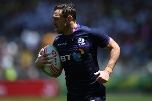 Scotland forward Scott Riddell, who has played in 47 World Sevens Series events, will bow out in Paris this weekend. Picture: Gallo Images via Getty.