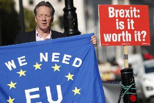The EU elections saw Remain-supporting politicians defeat the Brexit Party, even though it was the biggest single party (Picture: Alastair Grant/AP)