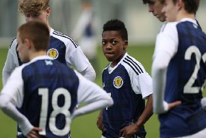 Karamoko Dembele has played for Scotland's under-16 side but seems to be favouring England for the future. Picture: Ian MacNicol/Getty