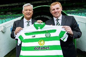 Neil Lennon believes he's mellowed. Picture: SNS Group