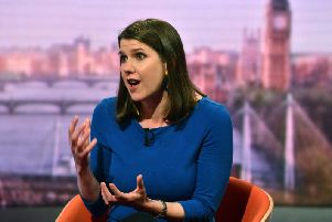 Jo Swinson announced her candidacy for the Lib Dem leadership on last week's Question Time
