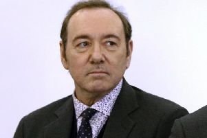 Kevin Spacey also appeared at the district court for a hearing in the case in January.