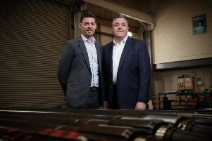 David Stephenson, CEO of Deep Casing Tools (DCT) and Steve Kent, COO of DCT. Picture: Contributed