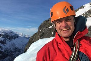 Scotland-based mountain guide Martin Moran, who was leading the missing team.