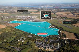 The Edinburgh 205 site has the potential to house office space for 20,000 workers. Picture: Contributed