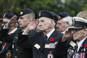 D-Day veterans commemorate the 75th anniversary of the landings