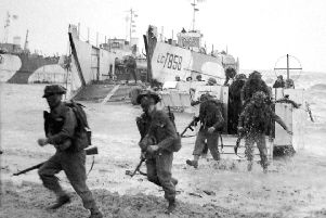 The Scotsman's leader column after D-Day, reproduced here, reflects on changing fortunes and 'blood, toil and tears' to come. Picture: TSPL