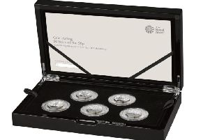 The military set includes five 50p coins recalling some of the most epic battles from Britain's past (Photo: Royal Mint)