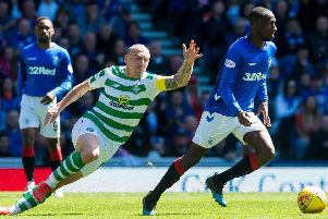 Glen Kamara impressed in Rangers' win over Celtic last month. Picture: SNS