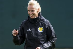 Scotland Head Coach Shelley Kerr