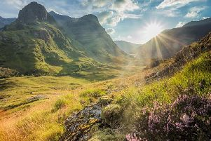 The beautiful landscape of Glen Coe set the scene for Outlanders opening credits in its first season (Photo: Shutterstock)