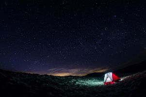 Stargazing in Scotland