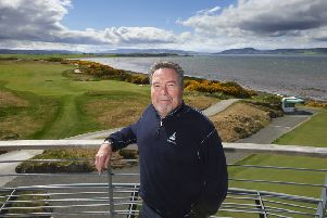 Mark Parsinen, pictured at the spectacular Castle Stuart Golf Links, which he co-designed.