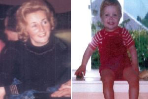 Renee MacRae and her son Andrew were last seen in 1976. Picture: PA