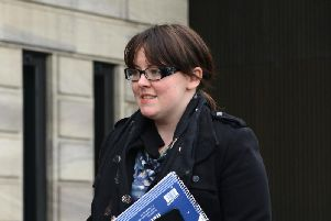 Natalie McGarry was jailed for 18 months at Glasgow Sheriff Court last week after being convicted of embezzling more than 25,000 from pro Scottish independence groups. Picture: SWNS