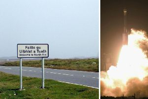 The project, said to be the UK's first vertical launch commercial spaceport, will create 50 to 70 jobs. Picture: JP/Getty Images