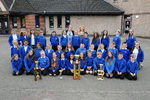 Denny Primary singers win Scottish Glee Challenge