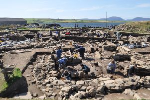 The annual excavation at the Neolithic complex of Ness of Brodgar will get underway next month, with a new Highland Park whisky to help fund the dig. PIC: Creative Commons/Stevekeiretsu