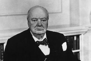 Sir Winston Churchill: quite good at drawing planes PIC: Keystone/Getty Images