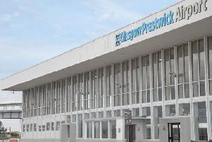 Ryanair is Prestwick Airport's sale passenger airline. Picture: Prestwick Airport