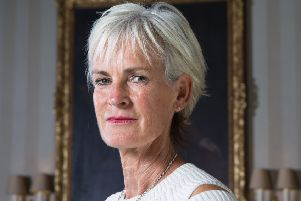 Judy Murray, pictured at her son Andy's Cromlix Hotel near Dunblane, turns 60 in September and will mark the occasion either with a cookery course in Tuscany or a trip to Auschwitz. Picture: Robert Perry