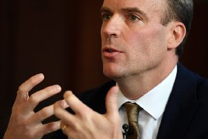Former Brexit Secretary Dominic Raab has launched an attack at fellow Tory leadership hopeful Boris Johnson. Picture: Leon Neal/Getty Images