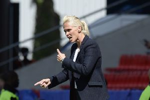 SFA chief executive Ian Maxwell believes Shelley Kerr is in line to become the first female top flight manager in the men's game. Photograph: Lorraine Hill