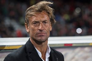 Morocco boss Herve Renard bids to win the Africa Cup of Nations for a third time. Picture: AFP/Getty