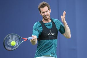 Andy Murray has not played competitively since the first round of the Australian Open in January. Picture: Getty Images