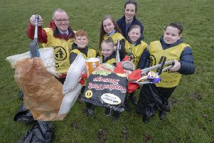 More than 40,000 volunteers across Scotland stepped forward to take part in over 700 litter-pick events and other clean-ups for Spring Clean 2019. Picture: Peter Devlin