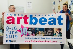 Forth Valley Art Beat celebrates tenth open studio event