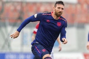 David Vanecek was expected to be Hearts' goalscoring saviour but proved a flop at Tynecastle. Picture: SNS.