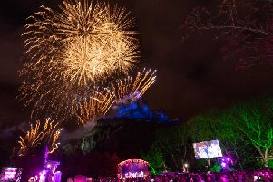 Events have been held in Princes Street Gardens to herald the new year in Edinburgh since 1993.