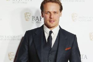 Outlander star Sam Heughan. Picture: PA